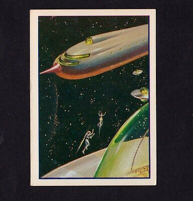 Scarce 1962 Mr. Softee Captain Chapel Trip To The Moon Card #6!