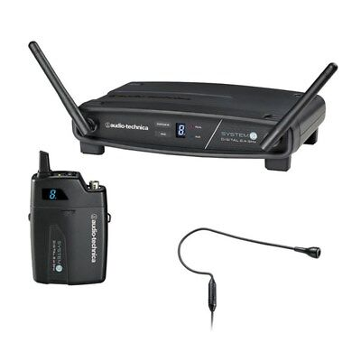 Audio Technica ATW-1101 H92 System 10 Digital Wireless Condenser Microphone Set