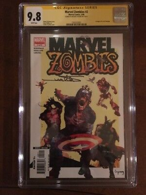 Marvel Zombies 2 CGC 9.8 SS Signed By Arthur Suydam, Story By Robert Kirkman