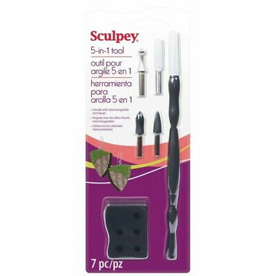 Sculpey 5 in 1 Tool - Interchangeable Tool Heads  - FAST 'N FREE