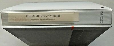 HP 3325B Synthesizer Function Generator Service Manual P/N 03325-90003