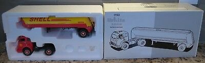 First Gear Shell Oil 1953 White 3000 Tractor Truck With Tanker