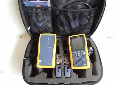 Fluke Dtx-1200 Cat 6 Cable Analyzer Tester W/ Dtx-Mfm2 Modules