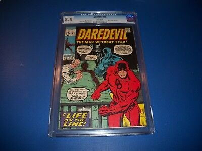 Daredevil #69 High Grade CGC 8.5 Beauty Black Panther Cover New Movie Wow!