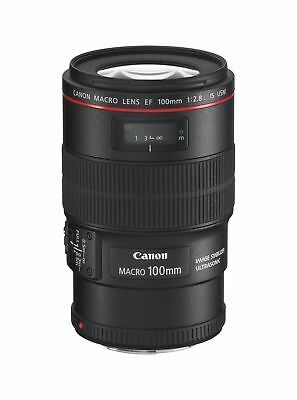 Canon Lens EF 100mm f/2.8L IS USM  Macro Japan Domestic New