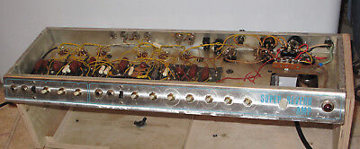 Original Vintage Late 60's Fender Super Reverb Tube Amp Chassis - Project