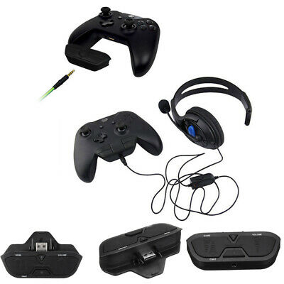 Audio Games Stereo Headset Headphone Adapter For Microsoft Xbox One Controller