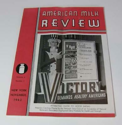 American Milk Review November 1942