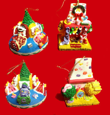 "McDonald's Collectibles, Christmas Ornaments,""2pcs McMemories Collection,"
