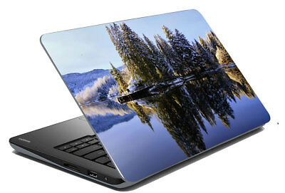 "River Laptop Skin Notebook Protector Art Cover Decal Fit 14.1"" x 15.6"""