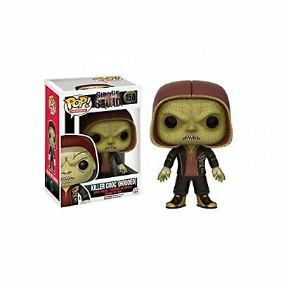 Suicide Squad Funko Pop! Movies Killer Croc Hooded Exclusive Vinyl Figure Toys