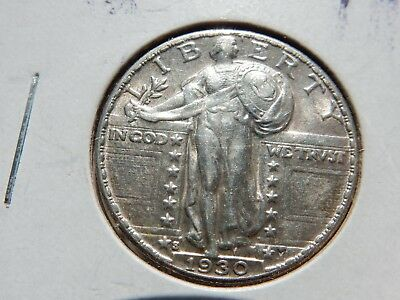1930-s standing 25c slider uncirculated! FREE shipping, NEVER tax!!