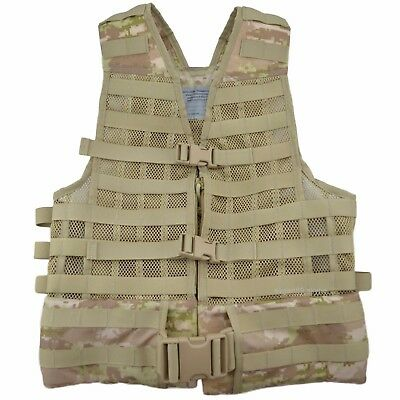 TECHINKOM 6SH117 Syria Biege Digital Tactical Molle Vest Carrying System