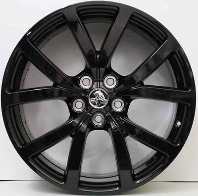 20inch GENUINE HOLDEN COMMODORE VF HSVI ALLOY WHEELS WITH NEW TYRES