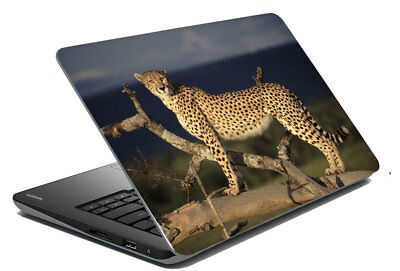 "Cheetha Laptop Skin Notebook Protector Cover Decal Fit 14.1"" - 15.6"""