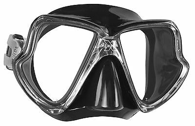Mares - X-Vision MID Scuba Diving / Snorkelling Mask - Black