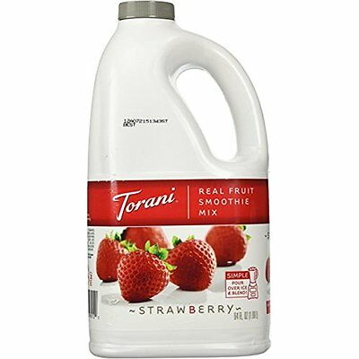 Smoothies Torani Strawberry Real Fruit Smoothie Mix, 64 Oz New In Pack NIP Fast