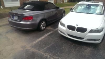 2009 BMW 1-Series 128i convertible with cold weather package alvage title