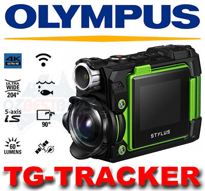 Olympus Stylus TG-Tracker Tough Waterproof 4K Action Video Camera Wi-Fi GPS