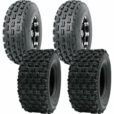 Full Set WANDA ATV tires 19x7-8 19x7x8 /& 20x10-9 20x10x9 Polaris Ranger RZR170