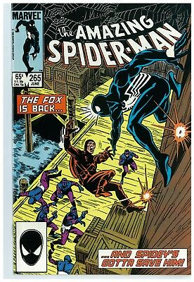 Amazing Spider-Man 265 1St Silver Sable 1St Print 9.6 Near Mint+ No Reserve