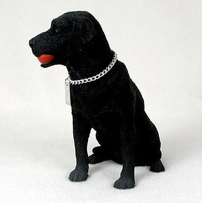 LABRADOR RETRIEVER LAB (BLACK) MY DOG Figurine Statue Pet Lovers Gift Resin
