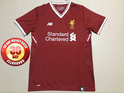 Liverpool Home Shirt 2017/18 Small, Medium, Large, Extra Large And XXL