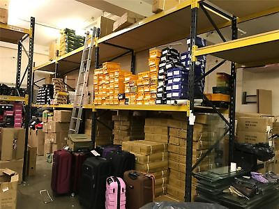 Metal Shelving Industrial Boltless Racking Retail Garage Heavy Duty Shelf
