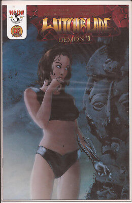 Witchblade: Demon #1 Image/Top Cow Dynamic Forces variant w/CoA limited edition