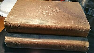 1st Ed Thomas Hood 2 books Set Owned & Signed by JOSE MARTI Logia MASONICA TAMPA