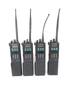 Lot of 4 x MOTOROLA ASTRO SABER III 800MHZ RADIO H04UCH9PW7AN - Used, Works