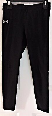 Under Armour Performance Apparel Pants, Black, Athletic Wear, Youth Medium