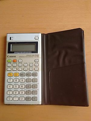 Canon F-73 Scientific Statistical Vintage Calculator