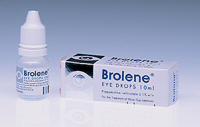 Brolene Eye Drops 10ml Eye Infections Blepharitis Conjunctivitis