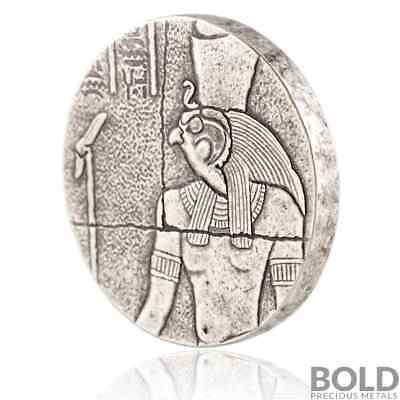 2016 2 oz .999 Silver Republic of Chad Egyptian Relic Horus by Scottsdale Mint