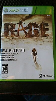 Id Rage First Person Shooter, backwards compatible (Microsoft Xbox 360, 2011)