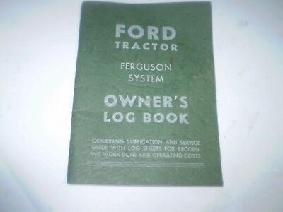 1948 Ford Tractor Owners Manual Original 61 Pages  Nos