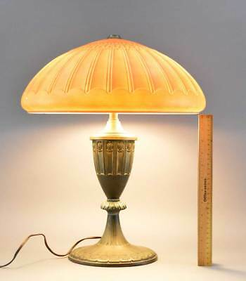 Antique Edward Miller Table Lamp No Res