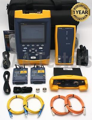 Fluke OF-500-MS45 OptiFiber SM MM Quad Fiber Certifier OTDR DTX 1200 MFM2 SFM2