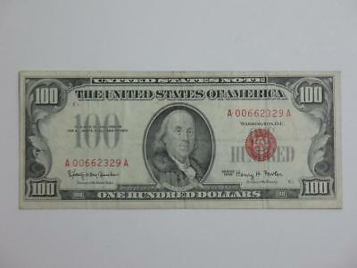 1966 $100 United States Note - One Hundred Dollar Currency