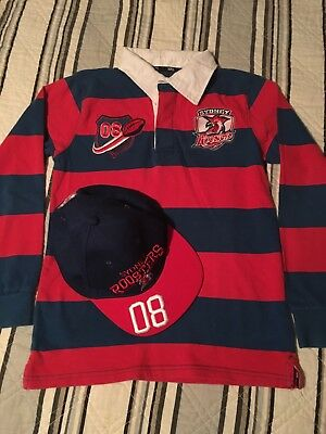 Roosters Supporters Rugby Top And Roosters Supporters Cap Set