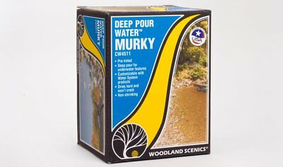 NEW Woodland Scenics CW4511 Deep Pour Water™ - Murky *SHIPS FREE*