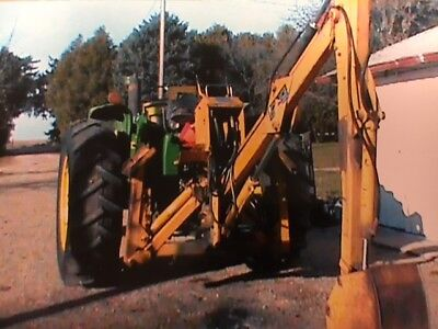 Long Super Backhoe 1199 Tractor attachment 3 Point PTO