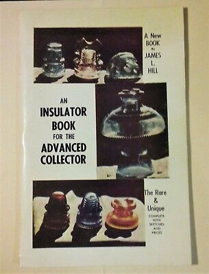 AN INSULATOR BOOK FOR THE ADVANCED COLLECTOR, RARE & UNIQUE /w SKETCHES & PRICES