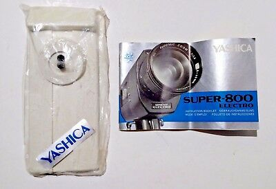 Vintage YASHICA Super-800 Electro ***INSTRUCTION BOOKLET & MOUNTING STAND***