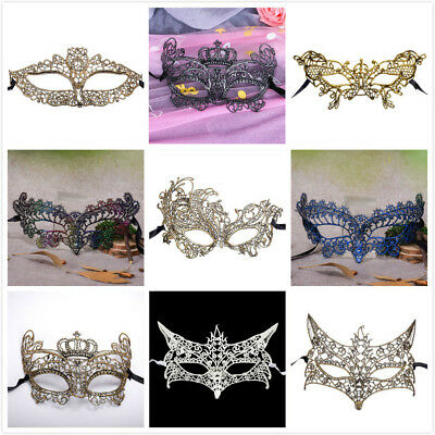 New Women Lace Charm Butterfly Cat Fox Eye Face Mask Masquerade Party Costume