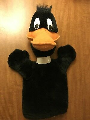 Daffy Duck - Looney Tunes - Hand Puppet - 1990 - Adorable!