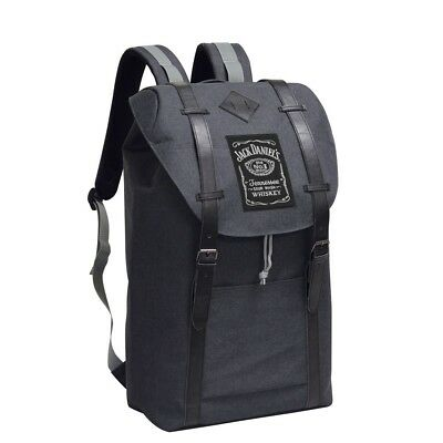 Preferred Nation JACK DANIELS Charcoal Grey Canvas Backpack Herschel Supreme NWT