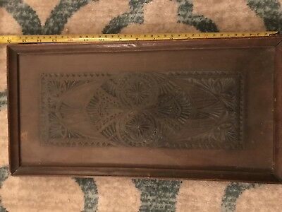 Antique Wood Panel