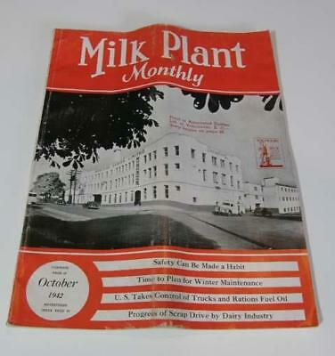 Milk Plant Monthly October 1942